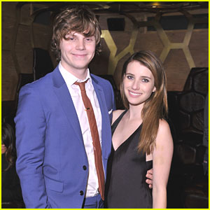 Emma Roberts &#038; Evan Peters: 'Adult World' After Party