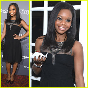 Gabby Douglas: People/Time & New Yorker Correspondents' Dinner Pre-Parties