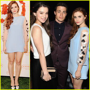 Holland Roden & Colton Haynes: Coach's Charity Evening
