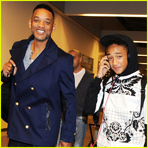Jaden Smith: Japan Arrival With Dad Will