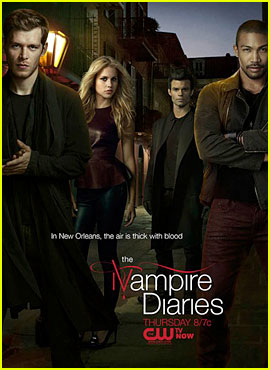 Joseph Morgan & Claire Holt: 'The Originals' Official Poster!