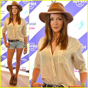 Katie Cassidy: Hard Rock Hotel Party