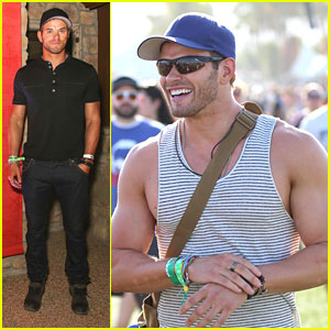 Kellan Lutz: Diesel Studio Africa Event at Coachella 2013