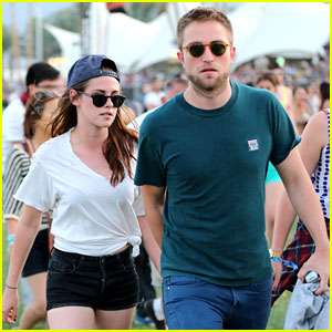 Robert Pattinson & Kristen Stewart Hold Hands at Coachella!