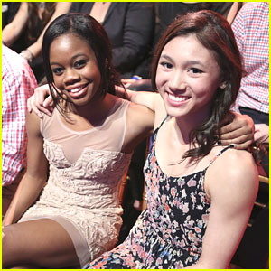 Gabby Douglas & Kyla Ross: Front Row at 'Dancing with the Stars'