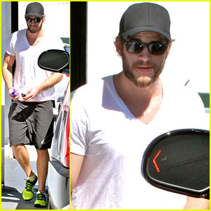 Liam Hemsworth: Wednesday Workout