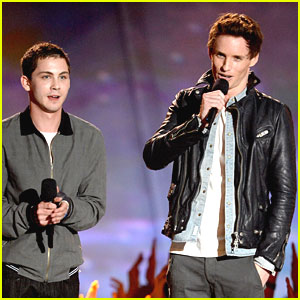 Logan Lerman -- MTV Movie Awards 2013