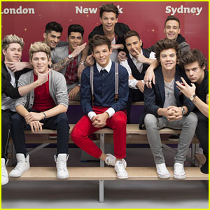 One Direction: Madame Tussauds Wax Figure Unveiling