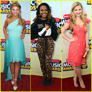 Stefanie Scott &#038; China McClain: Radio Disney Music Awards 2013