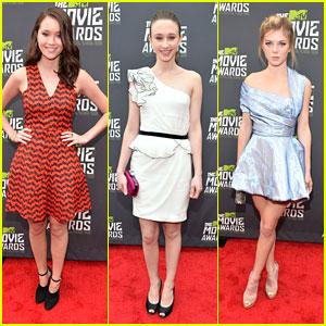 Taissa Farmiga -- MTV Movie Awards 2013