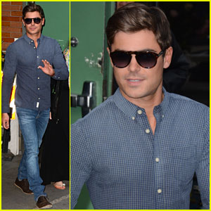 Zac Efron: 'Good Morning America' Stop