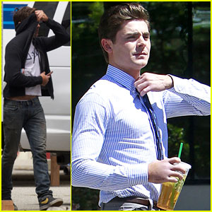 Zac Efron: 'Townies' Coffee Break