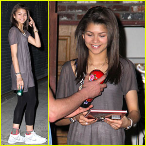 Zendaya: Late 'Dancing With the Stars' Rehearsal
