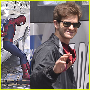 Andrew Garfield: Bus Rescue on 'Spider-Man' Set