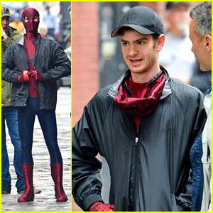 Andrew Garfield: 'Spider-Man' Stunt Scene