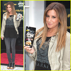 Ashley Tisdale Launches 'Cracker Jack'd'