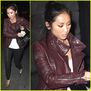 Brenda Song Dines at Chi Lin