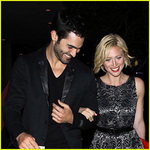 Brittany Snow: 'Teen Wolf' Wrap Party with Tyler Hoechlin!