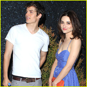 Crystal Reed & Daniel Sharman: 'Teen Wolf' Wrap Party Pair