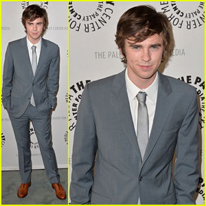 Freddie Highmore: 'Bates Motel' Paley Center Event