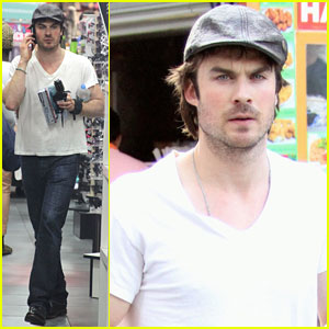 Ian Somerhalder: Fast Food Freaks Me Out!
