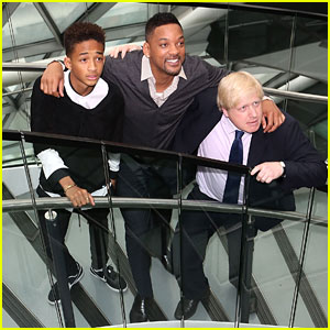 Jaden Smith Meets the Mayor of London!