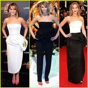 Jennifer Lawrence: 'Catching Fire' at Cannes!