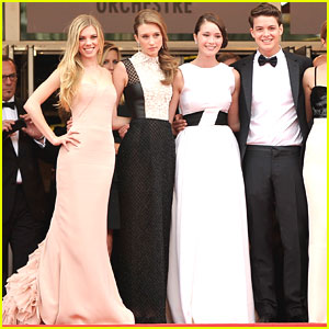 Katie Chang & Taissa Farmiga: 'The Bling Ring' Cannes Premiere