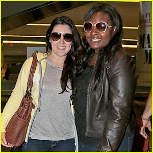 Candice Glover & Kree Harrison: JFK Arrivals