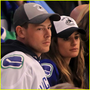 Lea Michele &#038; Cory Monteith: Canucks Couple!