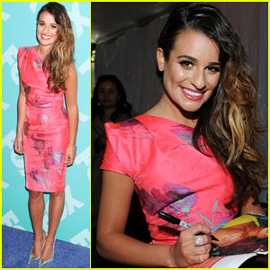 Lea Michele: Fox Upfronts 2013
