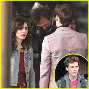Lily Collins & Sam Claflin: Lover's Spat on 'Love, Rosie' Set