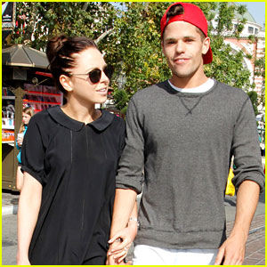 Max Carver Shops with His Girlfriend at The Grove