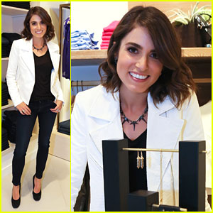 Nikki Reed: 7 For All Mankind Jewelry Launch
