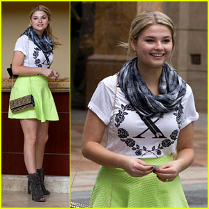 Stefanie Scott: Movies & Shopping with Brother Trent!