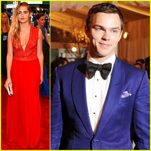 Nicholas Hoult &#038; Teresa Palmer -- Met Ball 2013