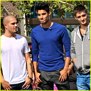 The Wanted: 'Extra' Interview at The Grove