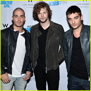 The Wanted Step Out for 'The Wanted Life' Viewing Party