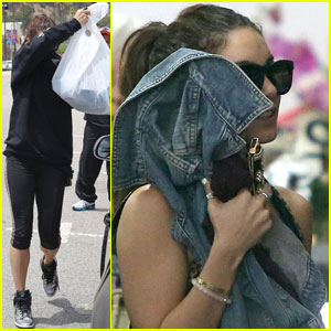 Vanessa Hudgens: WeHo Shopper