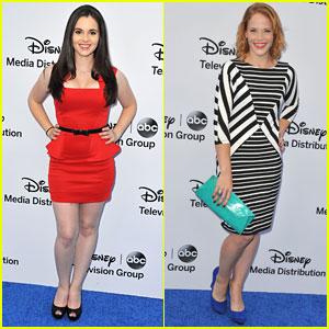 Vanessa Marano & Katie Leclerc: Disney Upfronts 2013