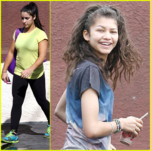 Zendaya &#038; Aly Raisman: Last Practices Before DWTS Finale