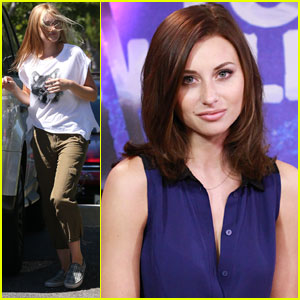 Aly Michalka Stops by 'Young Hollywood,' AJ Picks Up Dry Cleaning