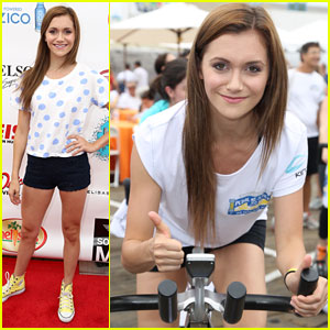 Alyson Stoner: Pedal On The Pier Benefit 2013