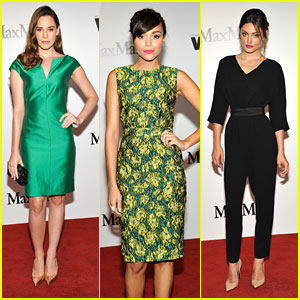 Christa B. Allen & Phoebe Tonkin: Women In Film Max Mara Face of the Future Awards 2013