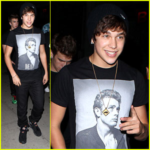 Austin Mahone: Back in the Studio!
