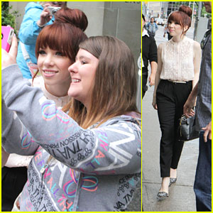 Carly Rae Jepsen: Toronto Press Day