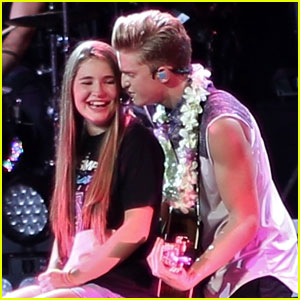 Cody Simpson Serenades Fan in Vancouver