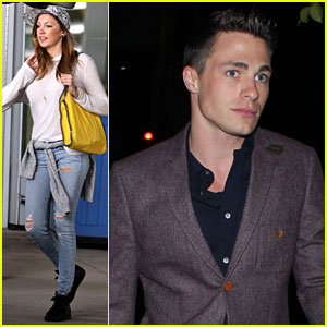 Colton Haynes Gets Dinner in WeHo, Katie Cassidy Hits Toronto
