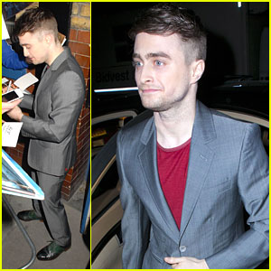 Daniel Radcliffe Talks 'Cripple of Inishmaan'