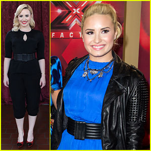 Demi Lovato: 'X Factor' Press Conference & Portraits!
